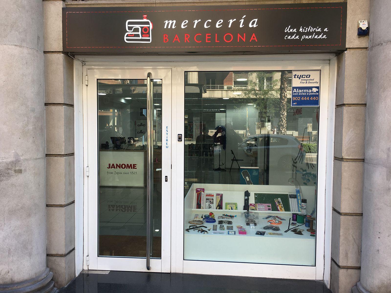 Máquinas de coser Janome - Mercería Barcelona